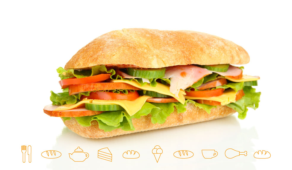 Citaten Eten En Drinken : Broodje bruin lunch eten drinken